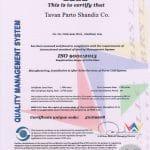 TAVAN PARTO ISO9001